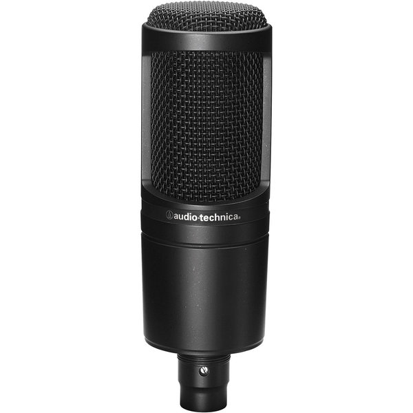 Audio Technica AT2020 Microfono da Studio a Condensatore
