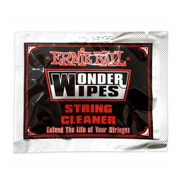 Ernie Ball Wonder Wipes String Cleaner - Singola monouso