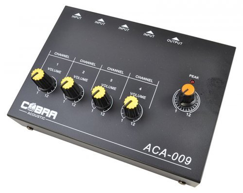 Cobra Acoustic Mixer mini 4 canali power supply or battery