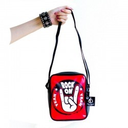 "Music Legends Collection - Borsa a tracolla ""Rock On"" Serie Jazz"
